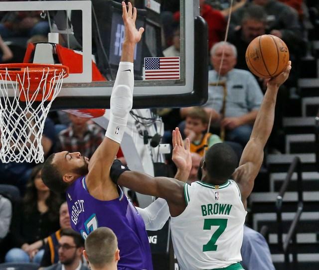 Celtics Wrap Up   Trip With Win Over Jazz Boston Herald