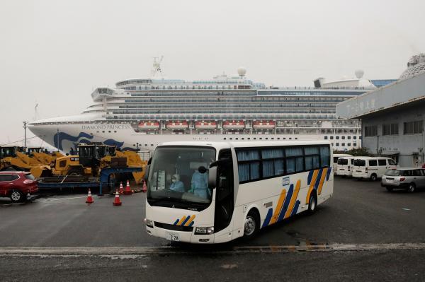 Coronavirus cruise: American passengers evacuate ship to return to the U.S.