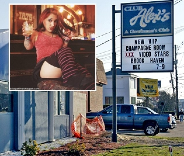 Bennett Quit After Visiting Alexs Gentlemans Club While On Duty To Try And Meet Adult Film Actress Bridget Powers Aka Bridget The Midget Inset