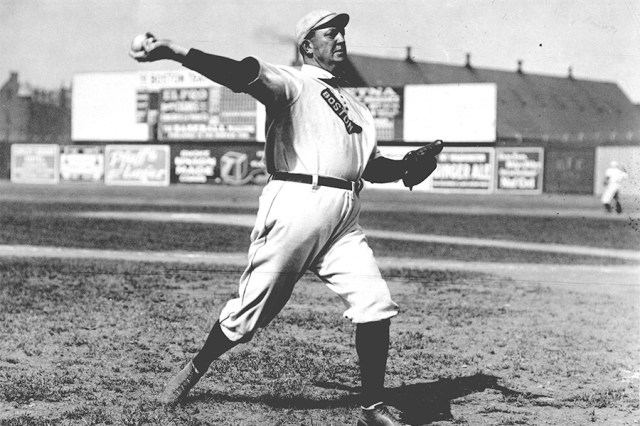 Throwback Thursday: Cy Young Throws a Perfect Game
