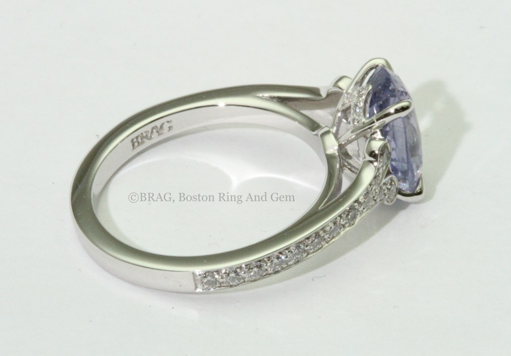 sapphire attachment sapphires with hirsh awesome rings ring trio of lavender engagement