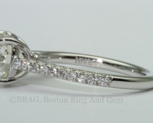 wedding ring band engagement solitaire classic diamond