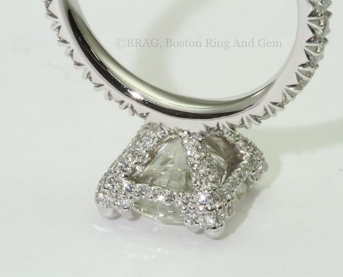Squared triple prong