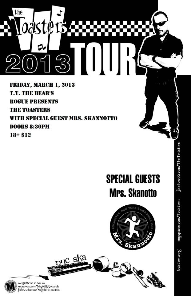 The Toasters Call Boston Home, Perform at TT The Bear's March 1 (1/3)