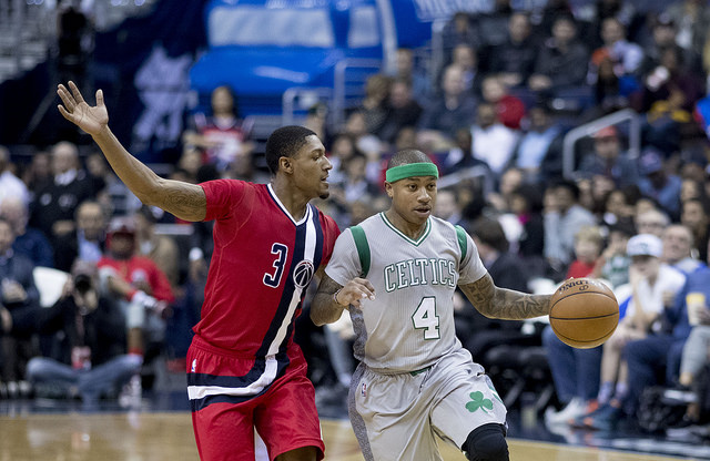 Isaiah Thomas and the Celtics are gunning for the number one seed in the East
