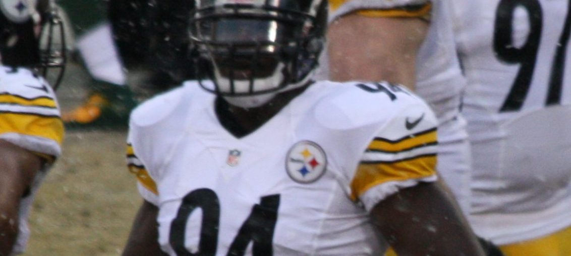 New Dolphin Lawrence Timmons was the biggest add for any of the Patriots division rivals (wikipedia commons photo)