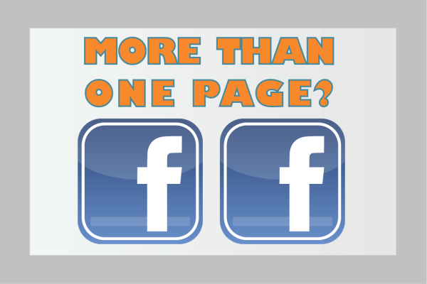 more than one Facebook page