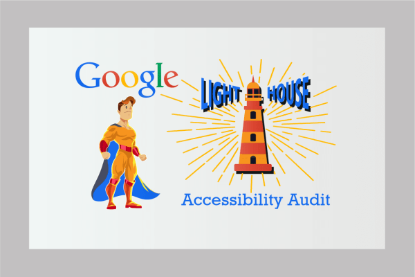 Lighthouse accessibility audit tool