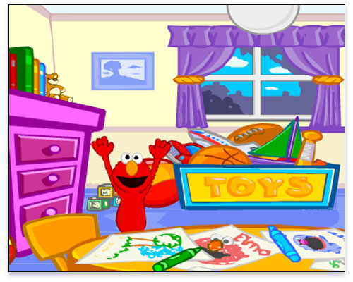 Sesame Street - Peek-a-Boo with Elmo
