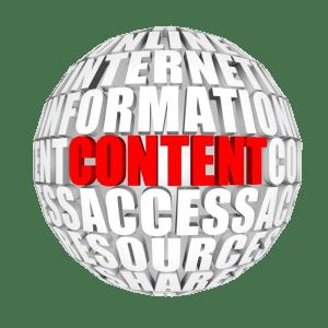 Make money blogging content