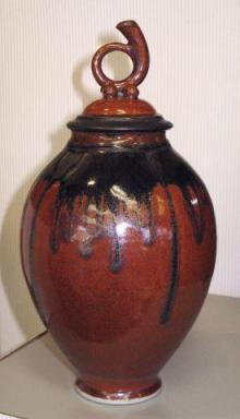Porcelain lidded vessel Andrew_Boswell