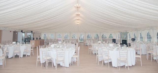 Boswells Weddings Marquee