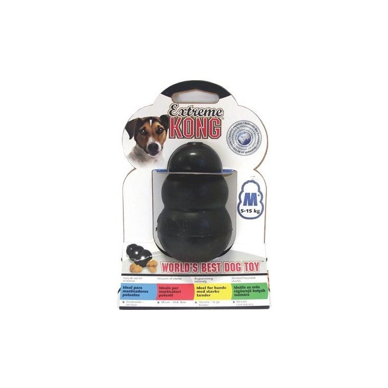 jouet chien kong 8cm xtrem medium noir