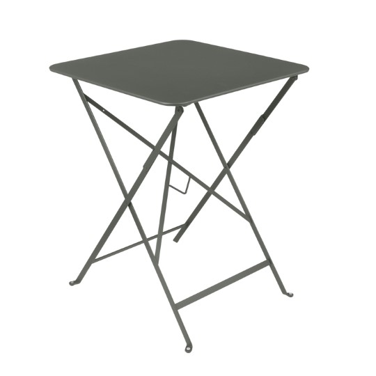 table pliante carree couleur romarin 57 x 57 x 74 cm