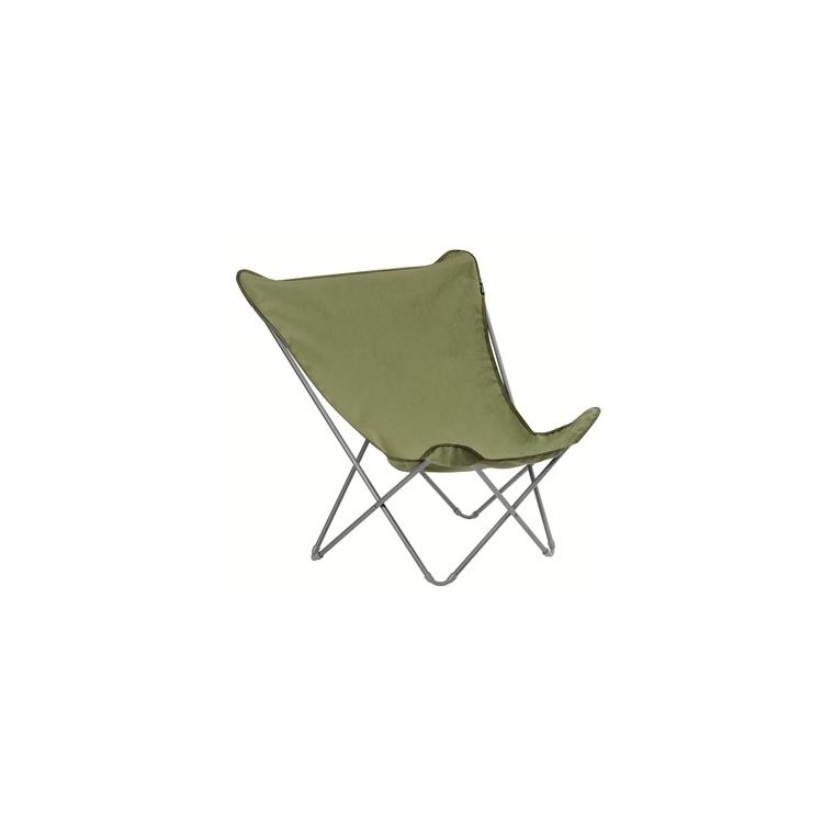 fauteuil pop up xl airlon lafuma kaki bains de soleil et transats lafuma mobilier botanic