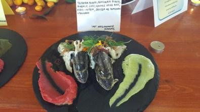 Βοτανικό Πάρκο και Κήποι Κρήτης- Δημιουργίες από ψάρι . Πιάτα με θαλασσινά στο εστιατόριο μας.