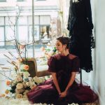 2001 Charleston Floral Fashion Womens Clothing Lookbook Editorial Purple Tulle Dress Boho Look 4 00002 Botanical Brouhaha