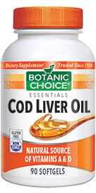 Cod Liver Oil with Vitamins A / D 90 softgels