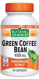 Green Coffee Bean Extract 400 mg 30 capsules