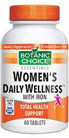 Womens Daily Wellness with Iron 60 tablet
