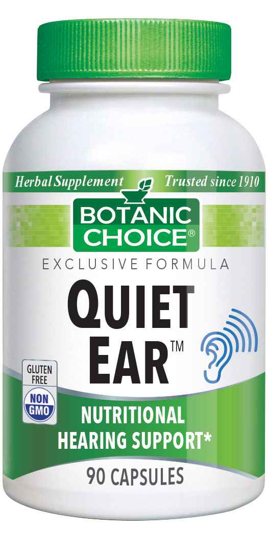 Botanic Choice Quiet Ear? - Nutritional Hearing Support Supplement - 90 Capsules