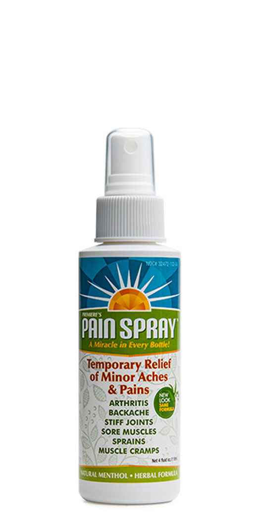 Amazing Solutions Premiere's Pain Spray Mist - 4 Oz