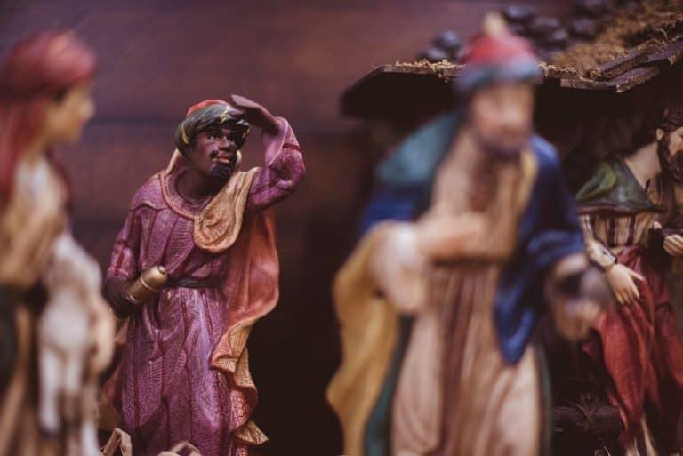 Figuren der heiligen drei Könige