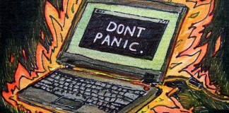 Don't Panic by Sarabbit
