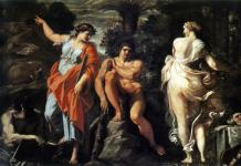The Judgement of Hercules