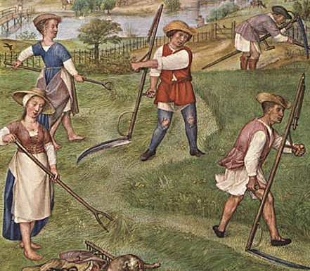 Image: 'June', from Il Breviario Grimani. Anonymous, circa 1510.