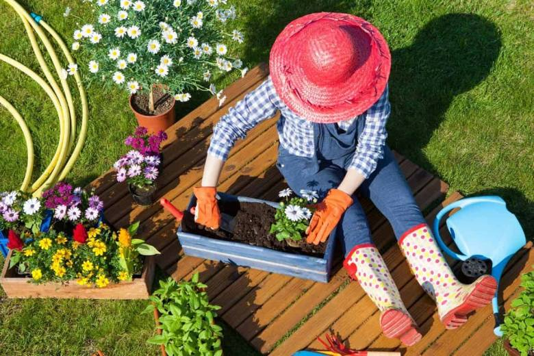 An enthusiastic and colourful gardener.