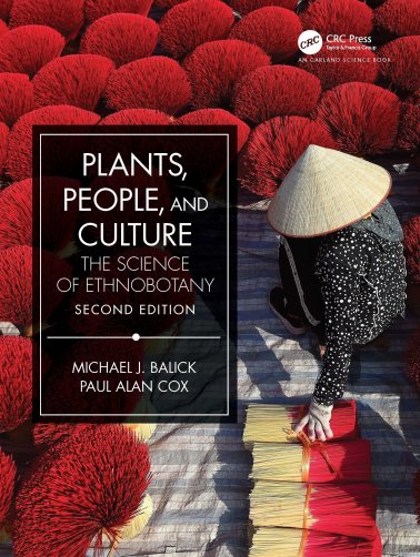 """Book cover of """"Plants, People and Culture: The Science of Ethnobotany"""""""