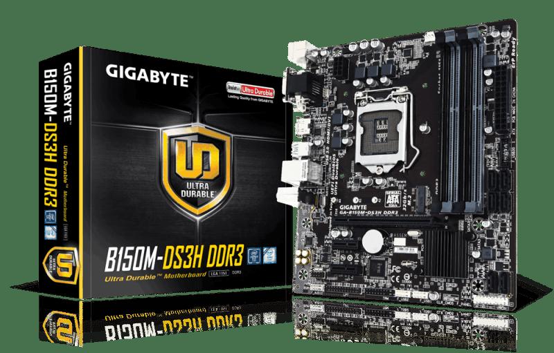 GIGABYTE-B150M-DS3H