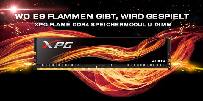 ADATA-XPG-Flame-DDR4-modules