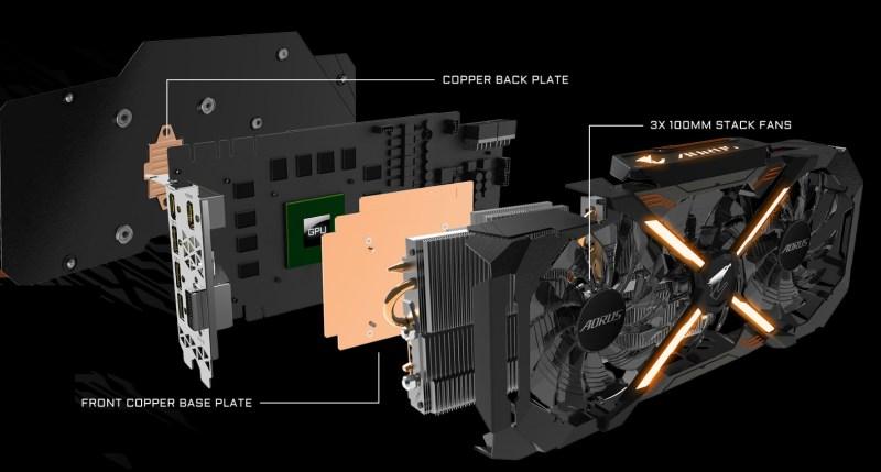 AORUS-GIGABYTE-gtx1080ti-Mexico-PCB