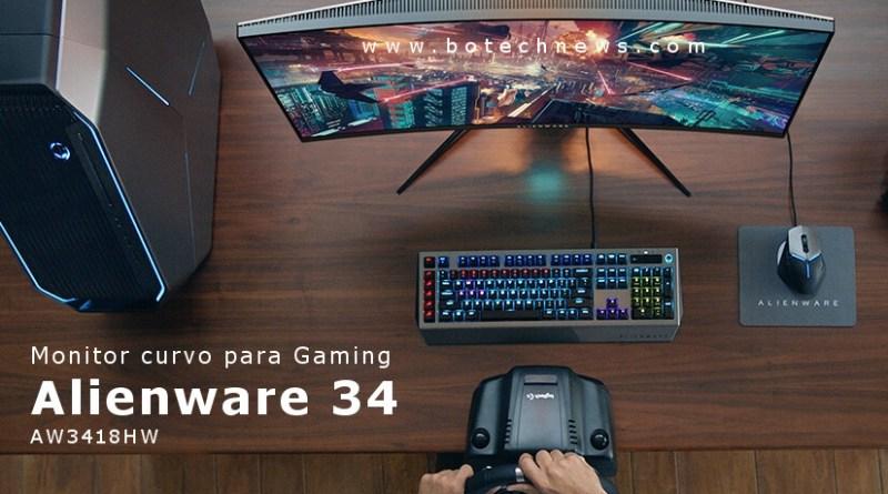 Alienware-AW3418HW-Monitor-Curvo-GSYNC-CES2018