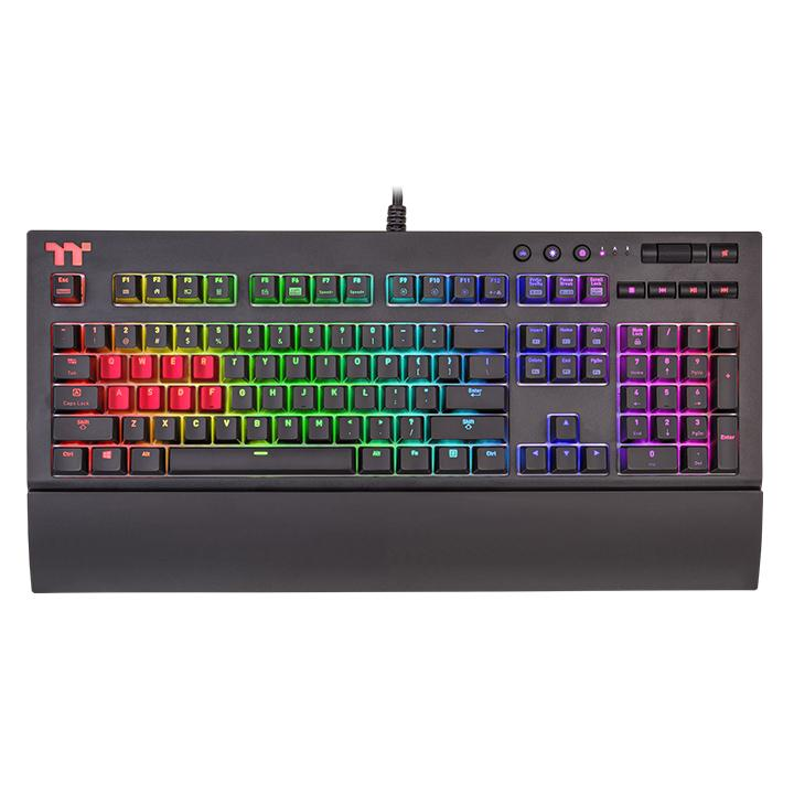 Thermaltake-TTPremium-X1-RGB-keyboard-CES2018