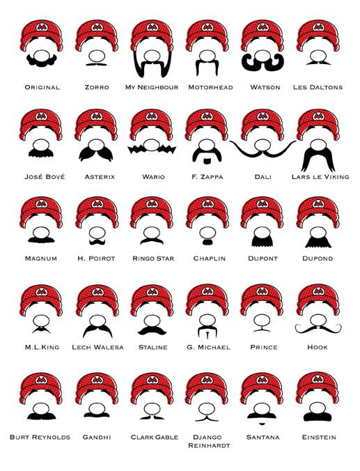 bigode do mario