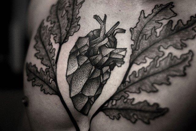 Kamil Czapiga - tatuagem