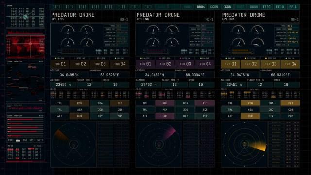 Nawaz Alamgir FUI: Fictional User Interface