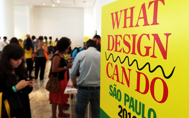 o que teve no What Design Can Do 2016 - FAAP