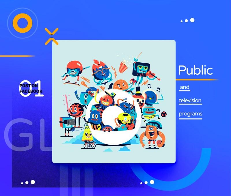 Boteco Design - Rede Globo no Facebook - ilustrações