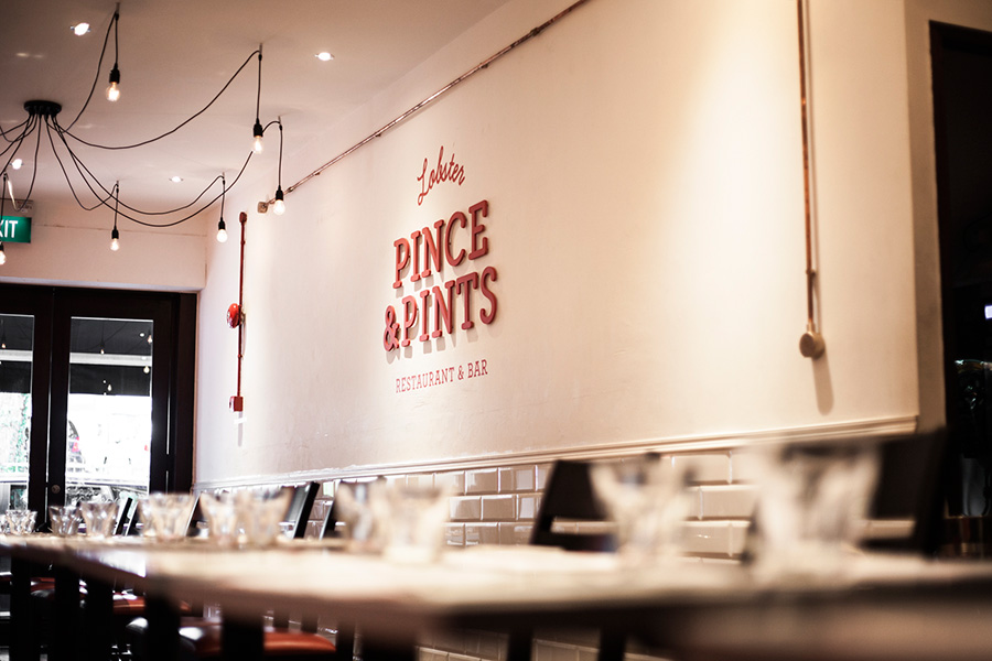 Pince Pints - identidade visual restaurante - Boteco Design