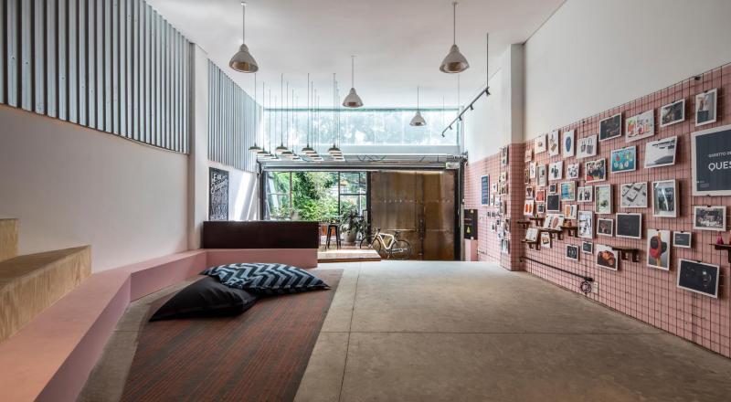 Questtonó - novo escritório e hub de inovação - Boteco Design
