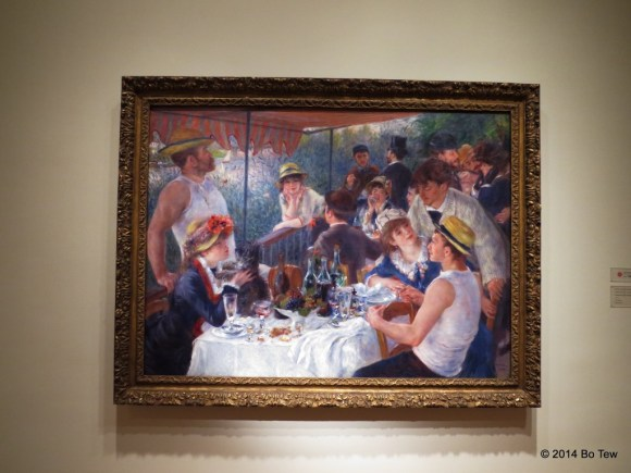 The most famous painting here at The Phillips Collection! Le déjeuner des canotiers by Renoir (1881)