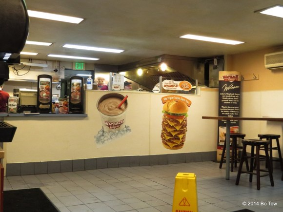 Nothing amazing. Just a very normal looking fast food restaurant.
