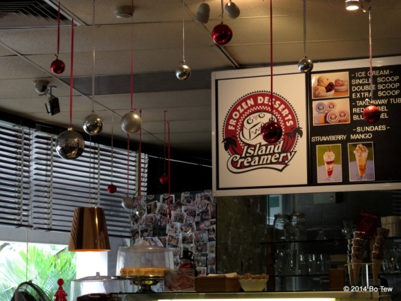 Island Creamery.