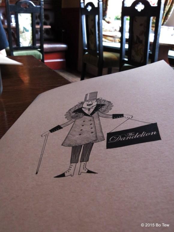 The mascot @ The Dandelion.