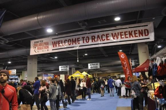 The Race Expo. (c) 2014 GORE-TEX® Philadelphia Marathon
