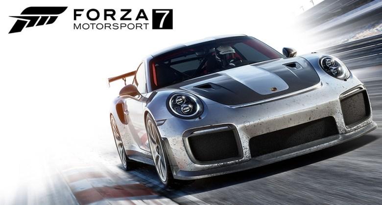 Porsche Forza video game